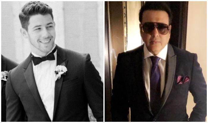 Nick Jonas and Govinda