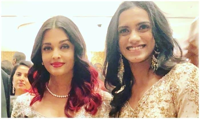 Aishwarya Rai Bachchan congratulates PV Sindhu on becoming first Indian to win gold at BWF World Championship 2019