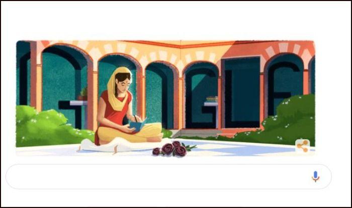 Google Doodle Pays Tribute to Punjabi Poet Amrita Pritam on Her 100th Birthday