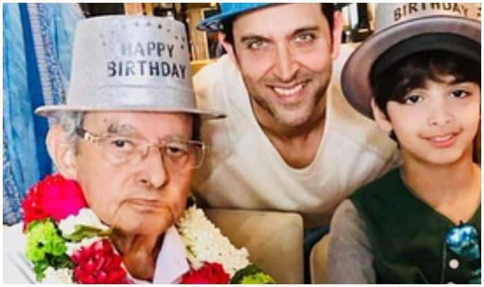 Hrithik Roshan's filmmaker-grandfather Om Prakash passes away aged 3