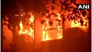 Delhi AIIMS Fire Put Off After Six Hours of Firefighting Ops, No Injury Reported | 10 Points