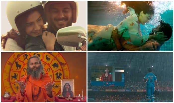 Sonam Kapoor and Dulquer Salmaan in stills from The Zoya Factor trailer
