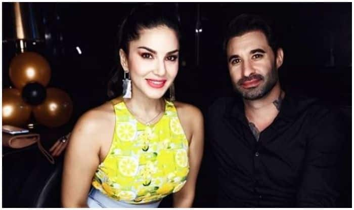 Sunny Leone Looks Hot in Neon Crop Top as She Poses With Husband Daniel Weber in Latest Pic