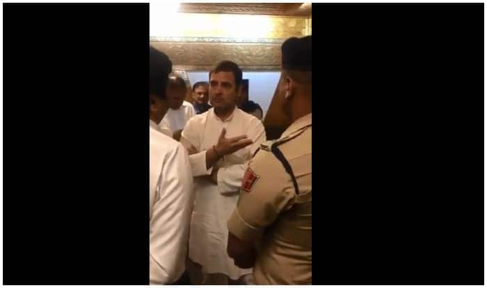 'Why Are we Not Allowed Out?' Rahul Gandhi Argues With Officials at Srinagar Airport | Watch