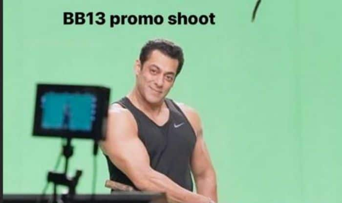 Bigg Boss 13: Host Salman Khan Shares BTS Picture From The Promo Shoot, Sends Fans Into a Frenzy