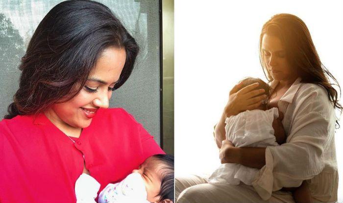 World Breastfeeding Week: Neha Dhupia, Sameera Reddy Demanding Freedom to Breastfeed in Public is The Most Beautiful Thing on Internet