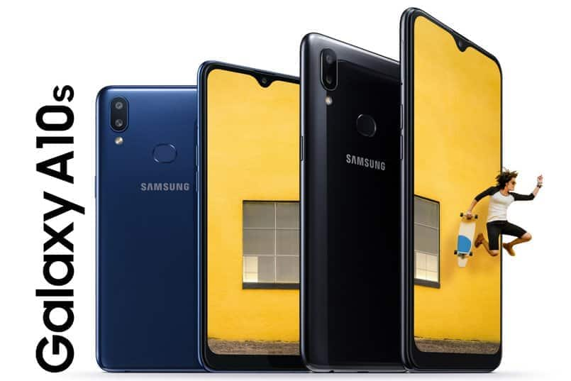 Samsung Galaxy A10s with Infinity-V display, dual-cameras announced: Features, specifications