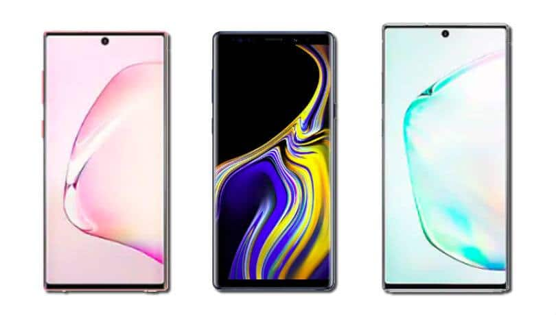 Samsung Galaxy Note 10 vs Galaxy Note 10+ vs Galaxy Note 9: What's different