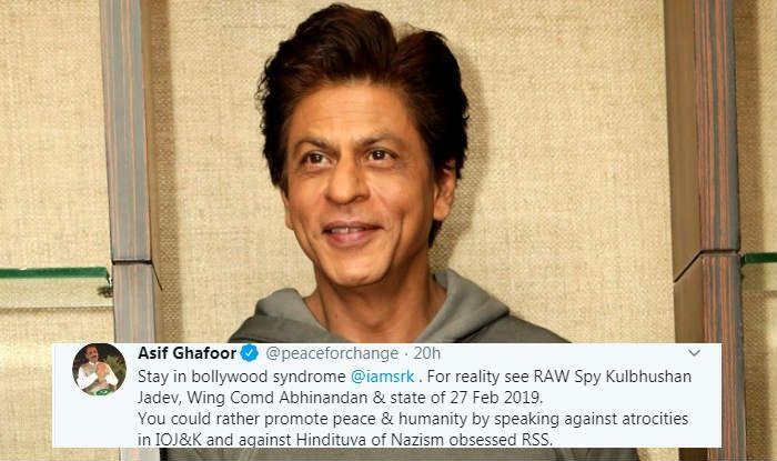 Pakistan's Army Spokesperson Asif Ghafoor Tweets Against Shah Rukh Khan For His Netflix Web-Series Bard of Blood
