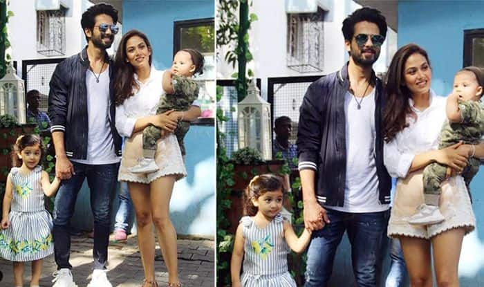 Shahid Kapoor, Mira Kapoor And Kids Misha-Zain Are All Set For The Birthday Bash