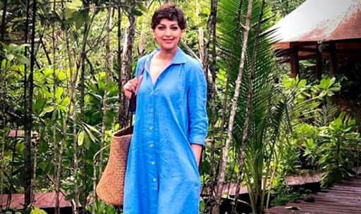Sonali Bendre holidaying in Thailand