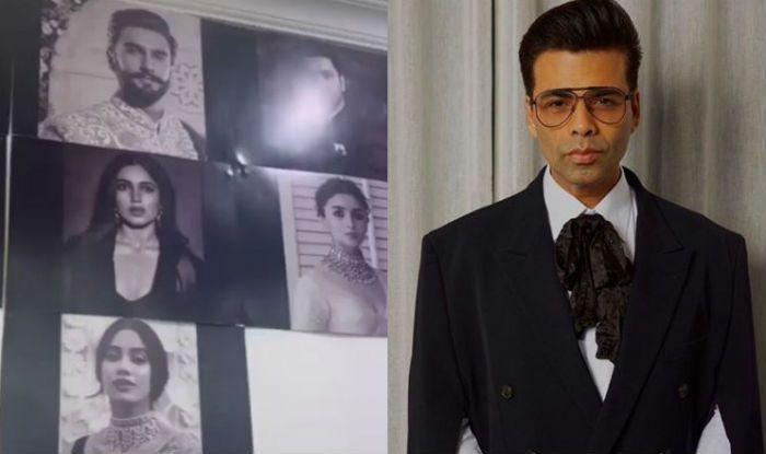 Karan Johar Shares a Sneak Peek of Takht's Ensemble Cast, Watch Video