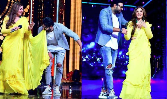 Raveena Tandon And Prabhas Recreate Tip Tip Barsa Paani in a Sexy Yellow Saree, Watch Video