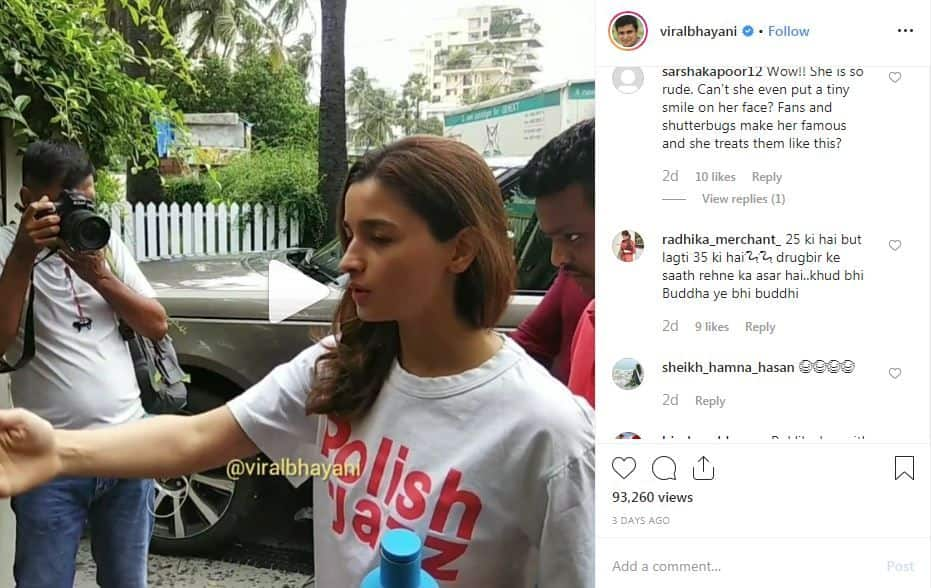 Did Alia Bhatt Really Misbehave With Her Bodyguard? Watch Viral Video