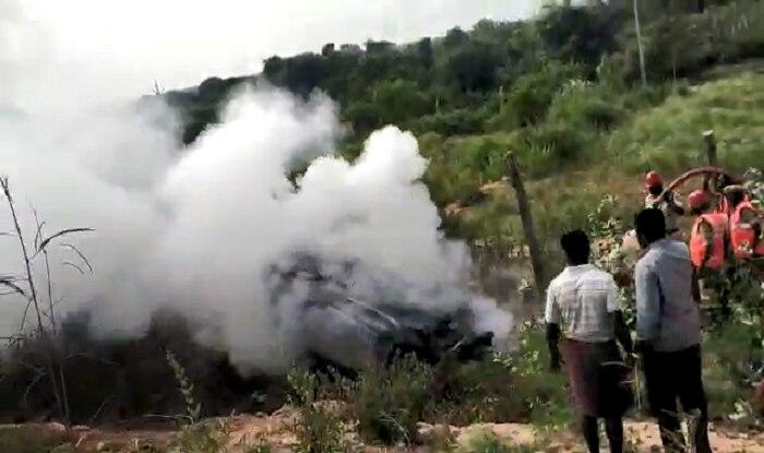 Andhra Pradesh: 3 Children Among 5 Burnt Alive as Speeding Car Overturns, Explodes