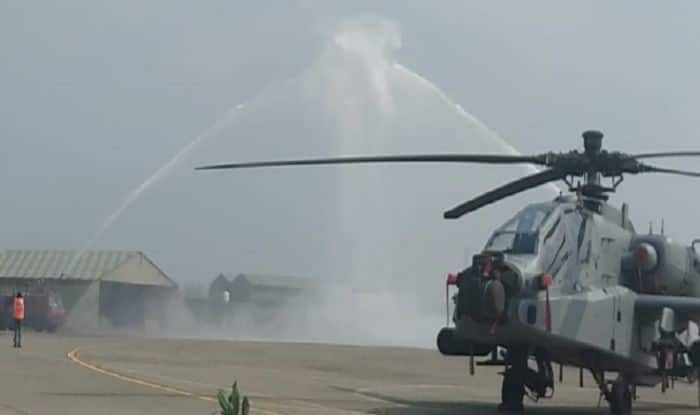 Major Boost to IAF as 8 US-made Apache AH-64E Attack Helicopters Join Air Force Fleet at Pathankot