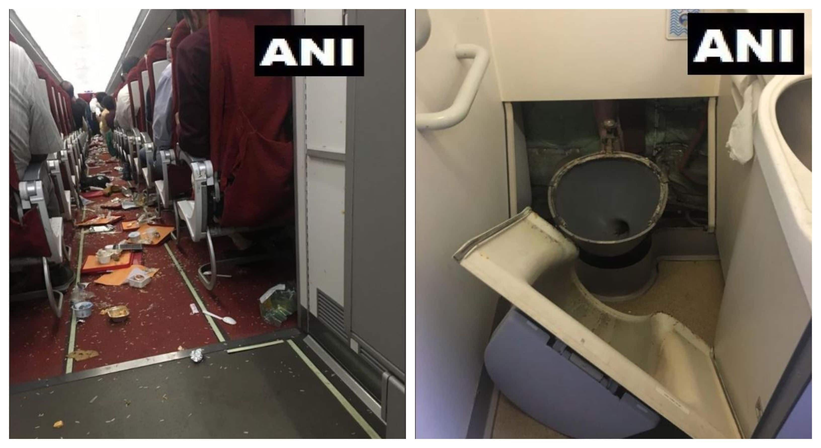 Turbulence hits 2 Air India Planes: Commode Rips Off, Cabin Crew Injured