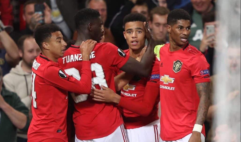 UEFA Europa League 2019-20, Manchester United vs Astana, Mason Greenwood, Mason Greenwood scored vs Astana, Mason Greenwood vs Astana, Greenwood in Europa League, Manchester United beat Astana 1-0, Eintracht Frankfurt vs Arsenal, Arsenal beat Frankfurt 3-0, Bukayo Saka, Arsenal's Bukayo Saka, Bukayo Saka against Frankfurt,