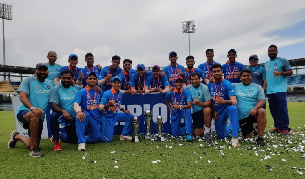India win Under-19 Asia Cup, Indian defeat Bangladesh to win Under-19 Asia Cup, India Under-19 defeat Bangladesh Under-19 to win Under-19 Asia Cup, India vs Bangladesh Under-19 Asia Cup final, India Under-19 beat Bangladesh Under-19 in Asia Cup final, India defeat Bangladesh in Under-19 Asia Cup final, IN-Y vs BN-Y