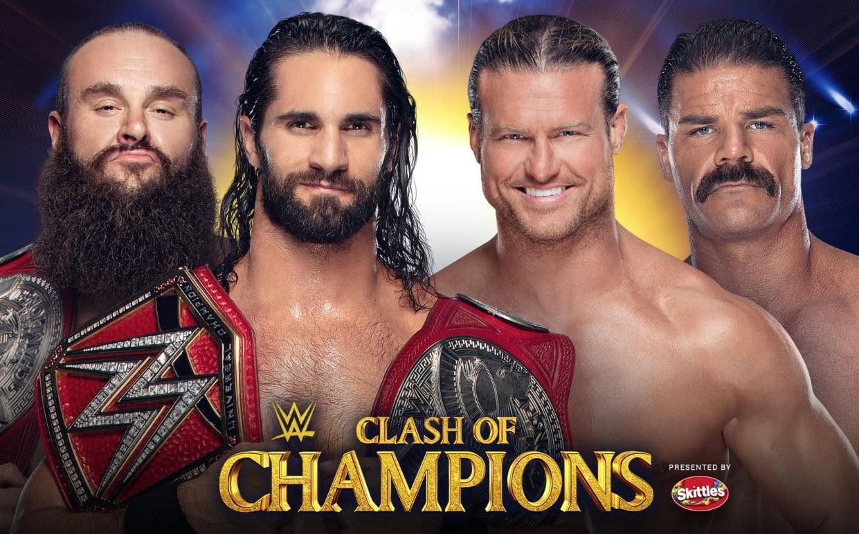 WWE Clash of Champions 2019 Live Streaming, WWE Clash of Champions 2019 Live Streaming in India, WWE Clash of Champions 2019 TV Telecast details India, WWE Clash of Champions 2019 Live TV Broadcast details India, WWE Clash of Champions 2019 Online Streaming details India, WWE Clash of Champions 2019 Live, When and Where to watch WWE Clash of Champions 2019, when and where to watch live TV telecast WWE Clash of Champions 2019, when and where to watch live online streaming of WWE Clash of Champions 2019, When and Where to watch WWE Clash of Champions 2019 in India, when and where to watch live TV telecast of WWE Clash of Champions 2019 in India, when and where to watch live online streaming of WWE Clash of Champions 2019 in India, WWE Clash of Champions 2019 where to watch online in India, WWE Clash of Champions 2019 which channels in India, This is where you can watch live TV Telecast of WWE Clash of Champions 2019, This is where you can get live TV broadcast of WWE Clash of Champions 2019, This is where you can watch live online streaming of WWE Clash of Champions 2019, Watch Online Stremaing of WWE Clash of Champions 2019 on AirtelXstream in India, Watch WWE Clash of Champions 2019 on Jio TV in India, Watch live TV Telecast of WWE Clash of Champions 2019 on Sony Ten 1,  Watch live TV broadcast of WWE Clash of Champions 2019 on Sony Ten 1 HD,