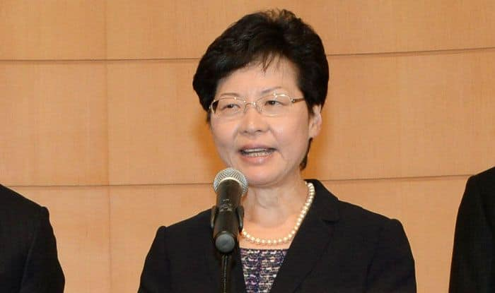 Carrie Lam, Hong Kong protests, Extradition bill, China, Beijing