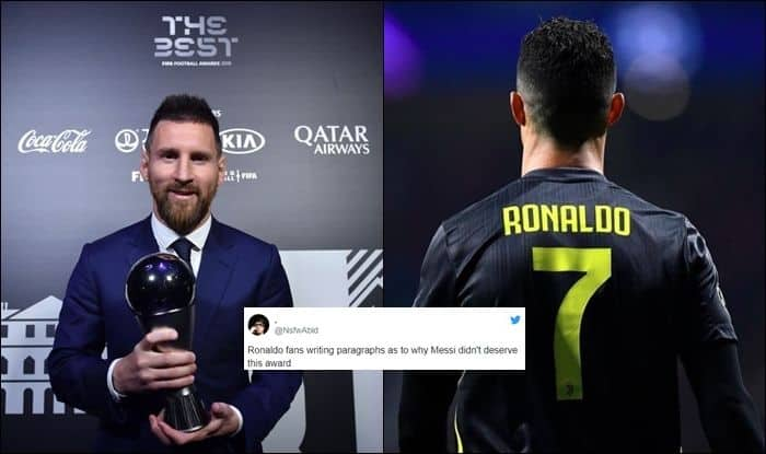 Cristiano Ronaldo, Cristiano Ronaldo twitter, Cristiano Ronaldo age, Cristiano Ronaldo Instagram, Cristiano Ronaldo wife, Cristiano Ronaldo girlfriend, Cristiano Ronaldo income, Cristiano Ronaldo misses FIFA Best Ceremony, 2019 FIFA The Best, 2019 FIFA The Best winners, 2019 FIFA The Best results, 2019 FIFA The Best highlights, 2019 FIFA The Best news, 2019 FIFA The Best Ceremony, 2019 FIFA The Best Ceremony latest news, 2019 FIFA The Best Ceremony winners, 2019 FIFA The Best Ceremony results, Football News, Lionel Messi, Jurgen Klopp, FIFA Best Awards, The Best, Lionel Messi, Lionel Messi age, Lionel Messi latest news, latest news Lionel Messi, Lionel Messi age, Lionel Messi income, Lionel Messi salary, Lionel Messi wife, Lionel Messi kids, Lionel Messi goals, Cristiano Ronaldo fans troll Lionel Messi, Barcelona, Juventus