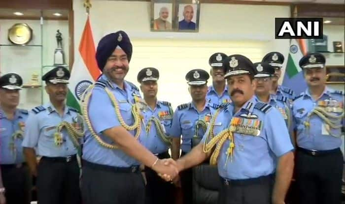 IAF Gets New Chief, Air Marshal RKS Bhadauria Takes Over From BS Dhanoa