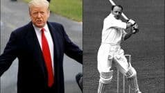 WATCH: How Trump Came to Know of Don Bradman, Bizarrely!