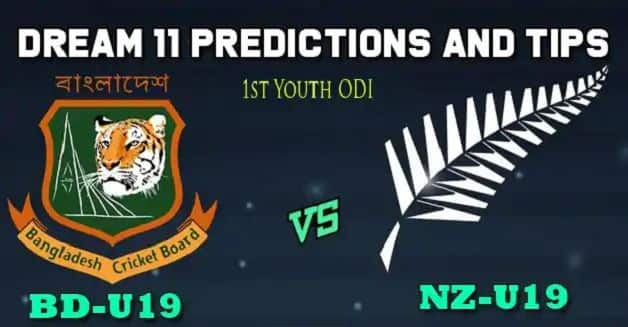 Dream11 Team Bangladesh U19 vs New Zealand U19, 1st Youth ODI, Bangladesh Under 19 Tour of New Zealand, 2019 – Cricket Prediction Tips For Today's Match BN-Y vs NZ-Y at Lincoln