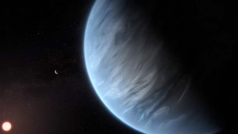 Astronomers find water on a potentially life-supporting planet for the first time
