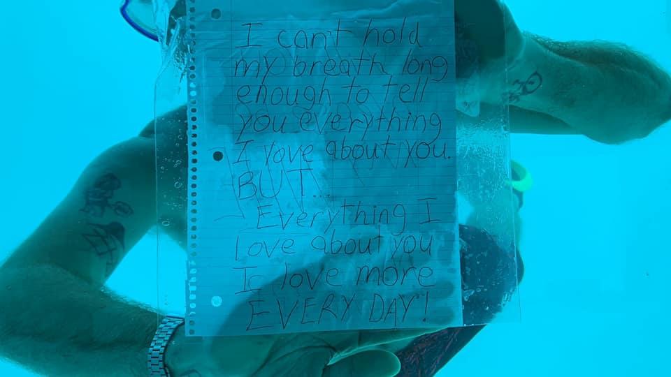 Devastating! Man Drowns as he Goes Underwater to Propose Girlfriend