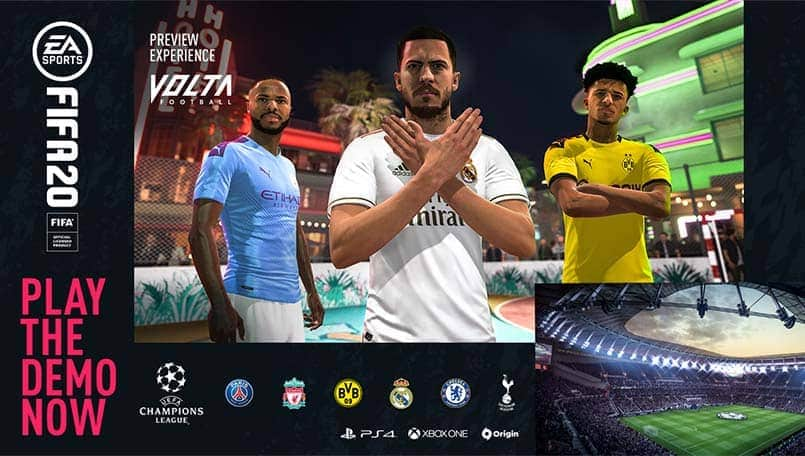 EA Sports' FIFA 20 Demo goes live for PS4, Xbox One and PC