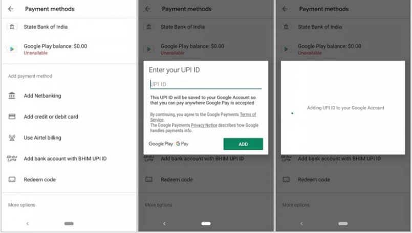 Google Play Store users in India can now use UPI to make payments