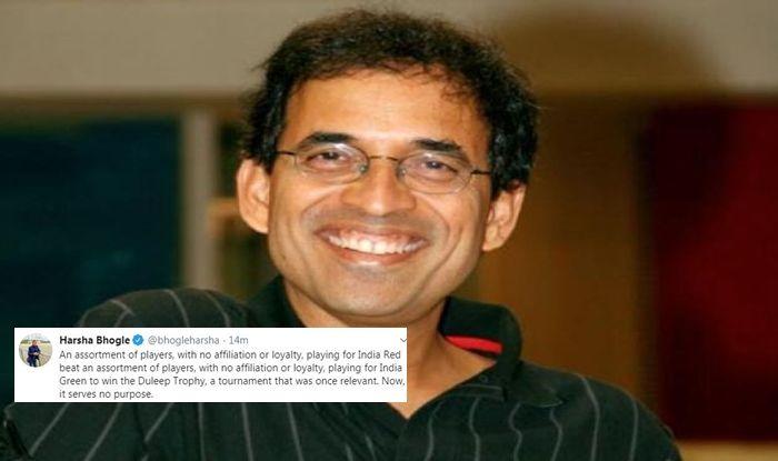 Harsha Bhogle, Harsha Bhogle latest news, Harsha Bhogle slams BCCI, Harsha Bhogle age, Harsha Bhogle wife, Harsha Bhogle cricket career, BCCI, Indian Cricket Team, Duleep Trophy, India Red vs India Green, Cricket News
