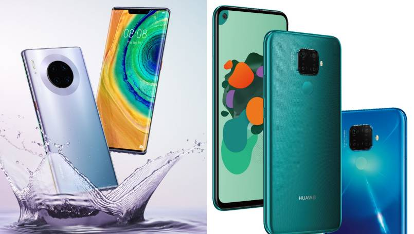 Huawei Mate 30, Mate 30 Pro and Mate 30 Lite renders appear ahead of September 19 launch