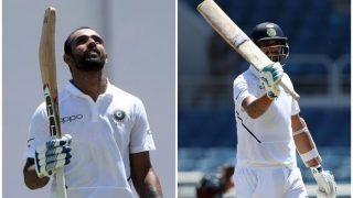 INDvWI: हनुमा विहारी ने जड़ा शतक, ईशांत ने जमाया अर्धशतक, 400 के पार टीम इंडिया का स्कोर