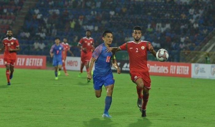 FIFA WC 2022 Qualifier: Sunil Chhetri's Goal Goes in Vain as Oman Beat India 2-1, Sunil Chhetri goal, Al-Mandhar, Football News, Brandon Fernandes, Blue Tigers, Oman Win 2-1