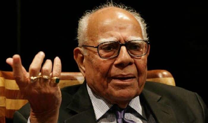 Ram Jethmalani, Eminent Supreme Court Lawyer And Former Law Minister, Dies at 95