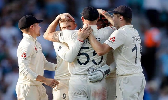 Ashes 2019, England vs Australia 5th Test Match Report, Ashes 5th Test Report, Steve Smith, Joe Root, Mathew Wade Hundred, Wade's hundred went in vain, ENG vs AUS 5th Test Report, Stuart Broad picks up four-for, Jofra Archer heroics help England beat Australia at Oval, ENG vs AUS Oval Test Report, England vs Australia, Cricket News, Ashes Match Report, ENG beat AUS in 5th Test, ENG vs AUS Level Series 2-2, Tim Paine, Australia retain Ashes urn, England beat Australia at Oval