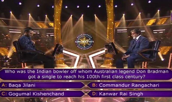 Sanoj Raj, latest news Sanoj Raj, who is Sanoj Raj, Sanoj Raj 1st crorepati, Sanoj Raj age, Sanoj Raj wife, KBC 11, KBC 11 latest news, Kaun Banega Crorepati, Kaun Banega Crorepati 11, Kaun Banega Crorepati, Kaun Banega Crorepati winner, Kaun Banega Crorepati 2019 winner, Kaun Banega Crorepati questions, Kaun Banega Crorepati 7 crore question, Sir Donald Bradman, Don Bradman