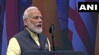 'We Have Said Good Bye to Article 370,' Says PM Modi on Kashmir Issue at NRG Stadium in Houston