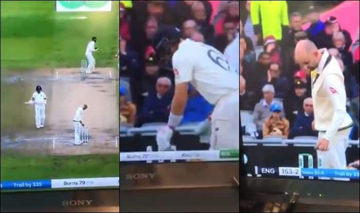Nathan Lyon Changed the Bails For Fun, Ashes 2019, Old Trafford, Manchester, Joe Root, 4th Ashes Test, Cricket News, Eng vs Aus, Nathan Lyon wickets, Nathan Lyon wife, Nathan Lyon age, Joe Root wife, Joe Root girlfriend, Nathan Lyon Changed bails
