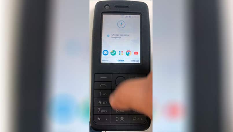 Nokia feature phone with Android 8.1 Oreo spotted in a video