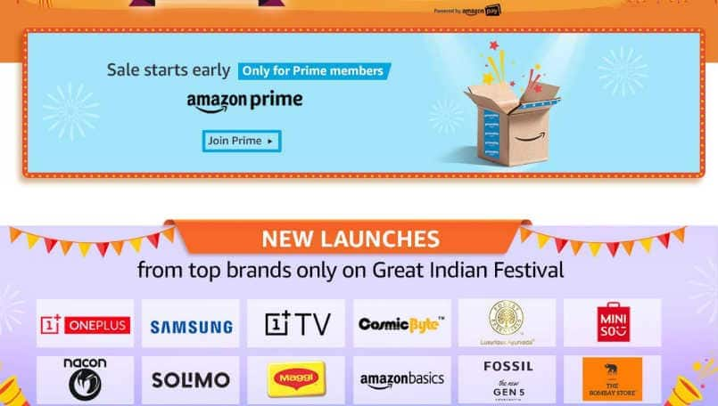 OnePlus TV will go on sale during the Great Indian Festival Sale, reveals Amazon India