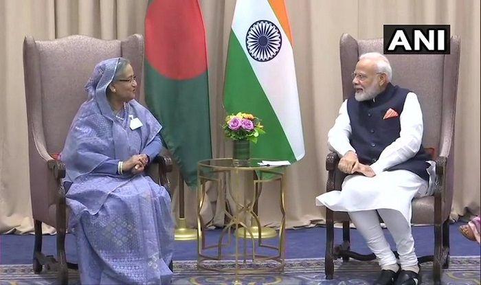 PM Modi, PM of Bangladesh Sheikh Hasina
