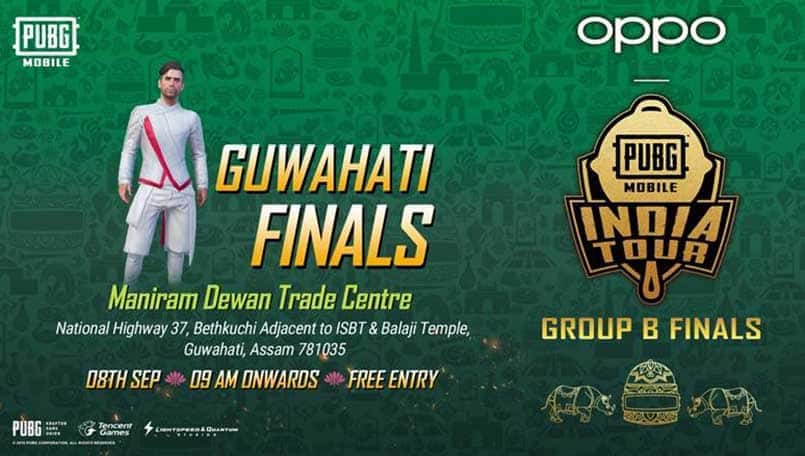 PUBG Mobile India Tour 2019 Guwahati Finals dates out