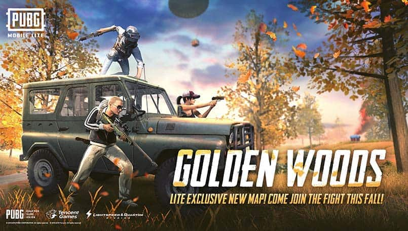 PUBG Mobile Lite v0.14.1 live with Golden Woods Map and new rewards
