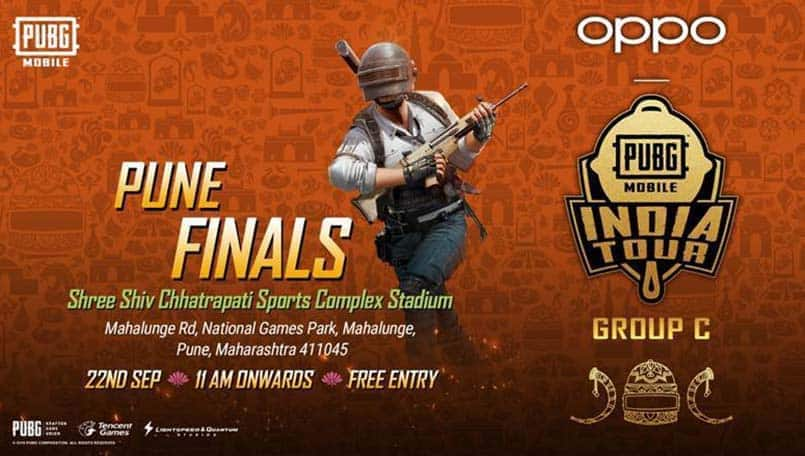 PUBG Mobile India Tour 2019 Pune finalists and contestants announced