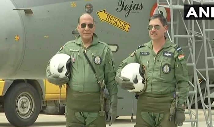 Rajnath Singh Creates History, Becomes First Defence Minister to Fly LCA Tejas | Watch