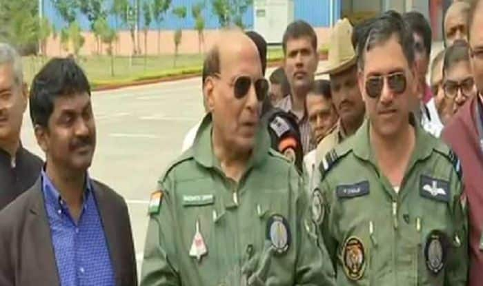 'Flying Was Smooth, Comfortable', Says Rajnath After Finishing 30-minute Sortie in LCA Tejas